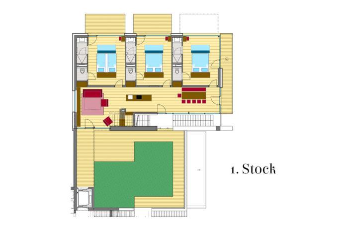 Appartements LUNA, Flachau - 1. Stock