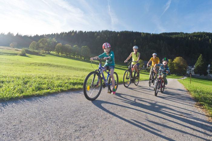 Radfahren im Sommerurlaub in Flachau, Salzburger Land