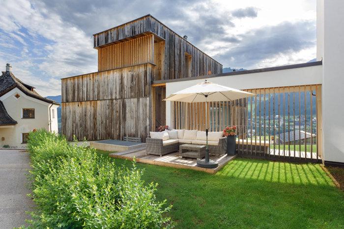 Terrasse - Ferienwohnungen in Flachau, Salzburger Land